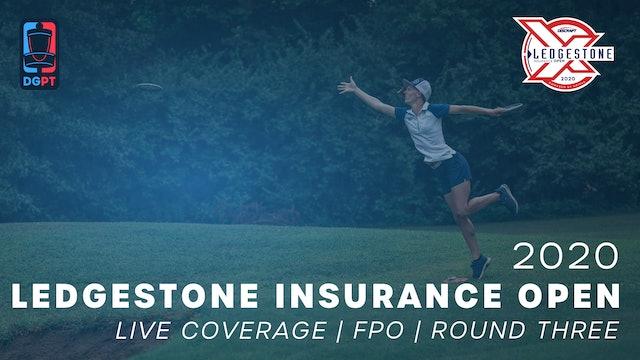 2020 Ledgestone Insurance Open Live | FPO | Round Three