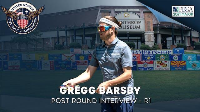 USDGC Round 1 - Post Round Interview - Gregg Barsby