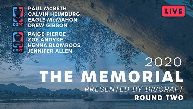 2020 Memorial Live - Round Two
