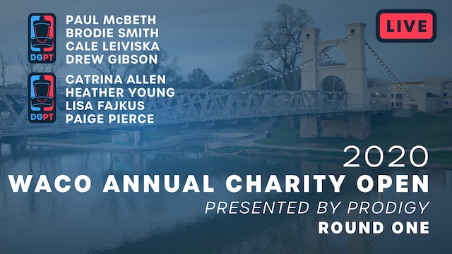 2020 Waco Annual Charity Open Live | Round One