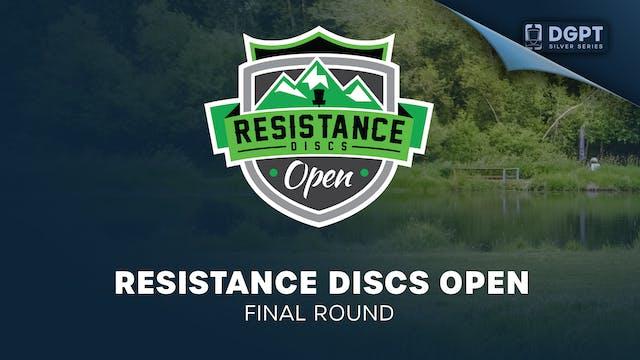 Resistance Discs Open | Final Round