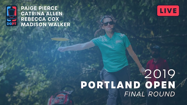 2019 Portland Open Live Replay - FPO Final Round