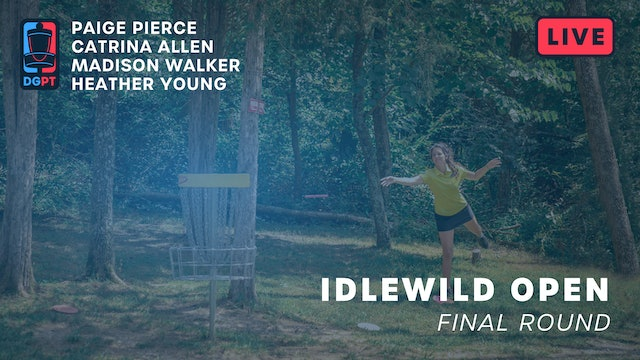 2019 Idlewild Open Live Replay - FPO Final Round