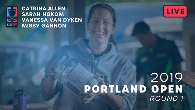 2019 Portland Open Live Replay - FPO Round 1