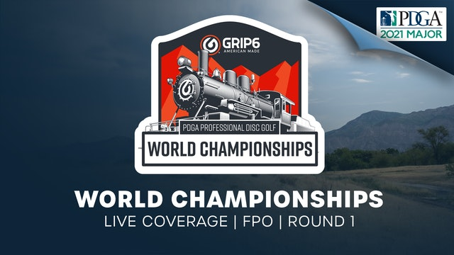 PDGA World Championships | Round 1 | Women