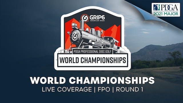 PDGA World Championships | Round 1 | ...