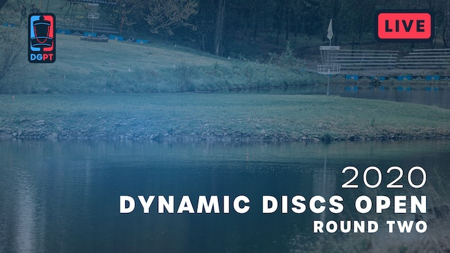 2020 Dynamic Discs Open Live | Round Two