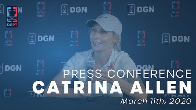 Catrina Allen Press Conference Interview
