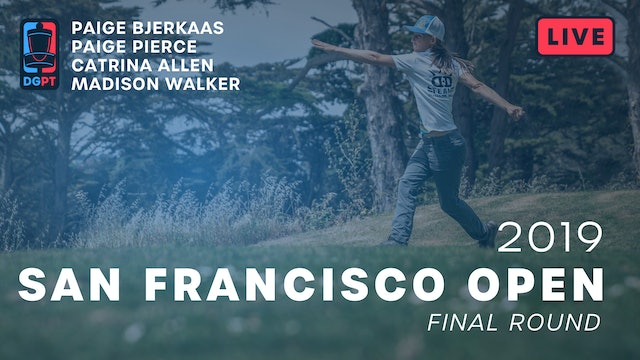 2019 San Francisco Open Live Replay - FPO Final Round