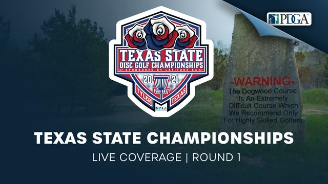 Texas State Championships presented by Latitude64 | Live | Round 1 - Part 2