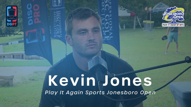 Kevin Jones Press Conference Interview