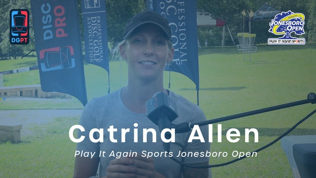 Catrina Allen Press Conference Interview