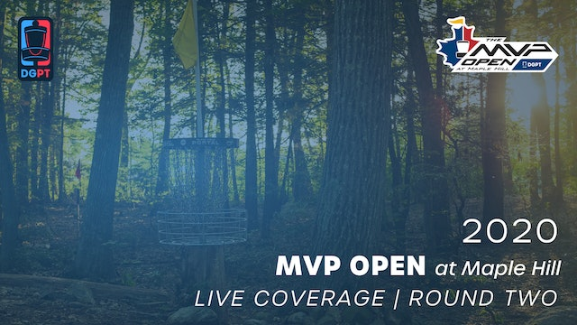 2020 MVP Open at Maple Hill Live | Round Two