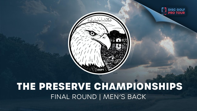 The Preserve Championships   Final Round   Men's Back