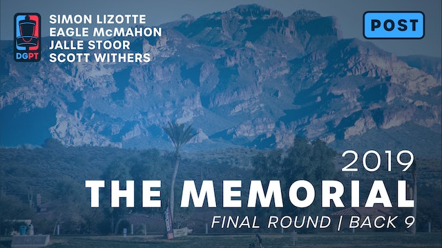 2019 Memorial Post Produced - MPO Final Round | Back 9