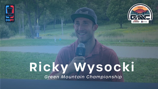 Ricky Wysocki Press Conference Interview