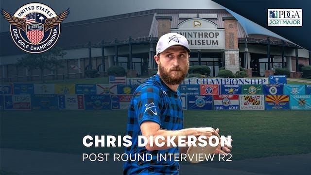 USDGC Round 2 - Post Round Interview - Chris Dickerson