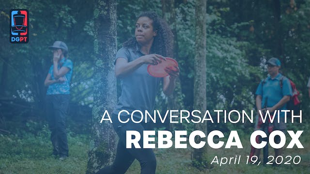 A Conversation with Rebecca Cox
