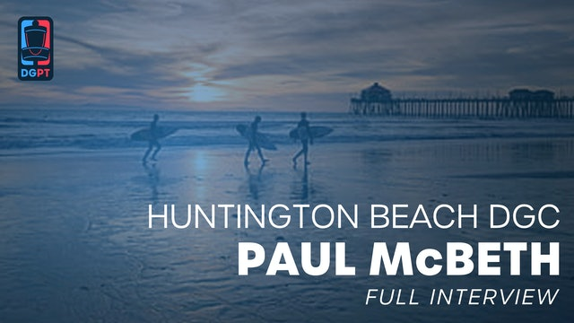 Paul McBeth - Full Interview