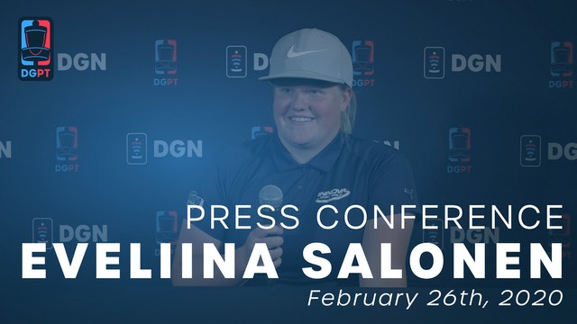 Eveliina Salonen Press Conference
