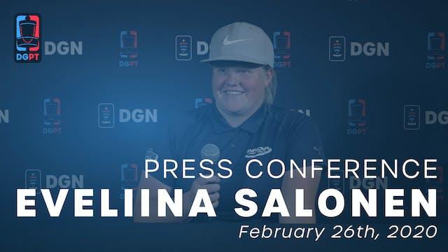 Eveliina Salonen Press Conference