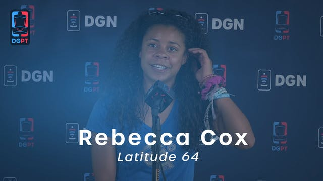 Rebecca Cox Press Conference
