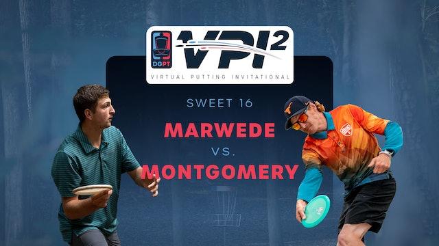 Andrew Marwede vs Colten Montgomery | VPI2 | SWEET 16