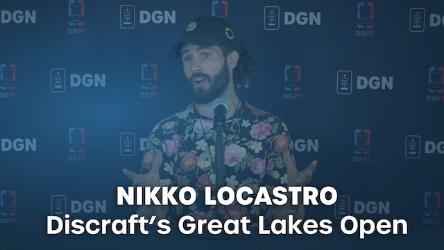 Nikko Locastro Press Conference Interview