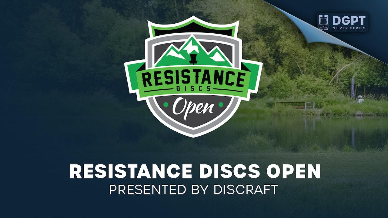 Resistance Discs Open