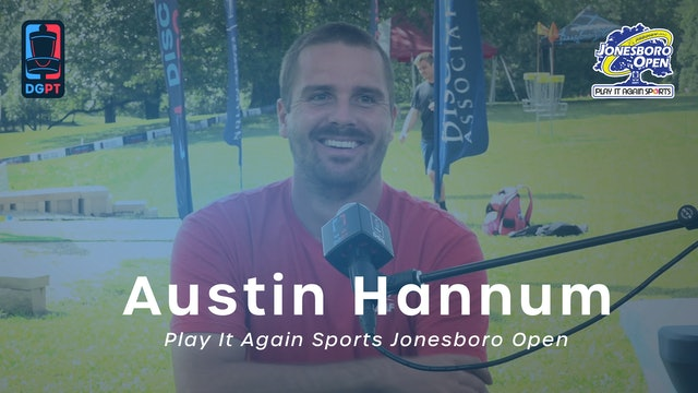 Austin Hannum Press Conference Interview