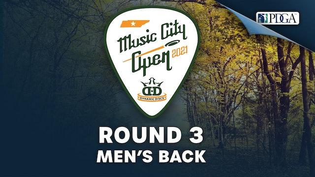 Round 3, Men's Back   Music City Open
