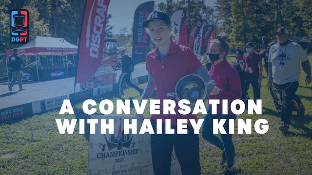 A Conversation with Hailey King | November 4th, 2020