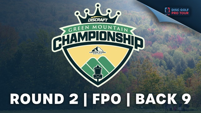 Round 2, Women's Back | Green Mountain Championship