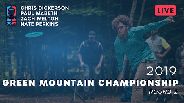 2019 Green Mountain Championship Live Replay - MPO Round 2