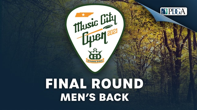 Final Round, Men's Back   Music City Open