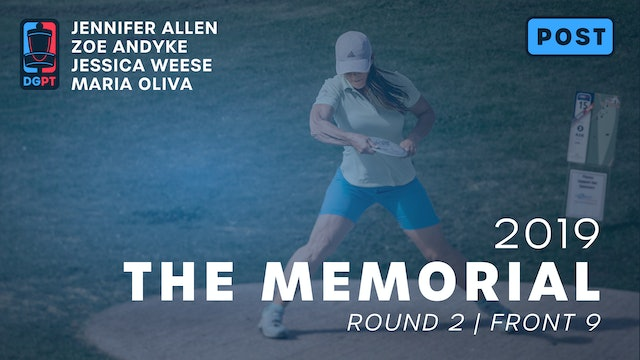 2019 Memorial Post Produced - FPO Round 2 | Front 9