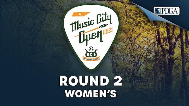 Round 2, Women's   Music City Open - Part 2