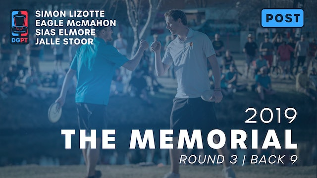 2019 Memorial Post Produced - MPO Round 3 | Back 9