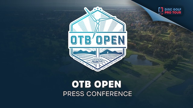 OTB Open Presented by Innova | Press Conference