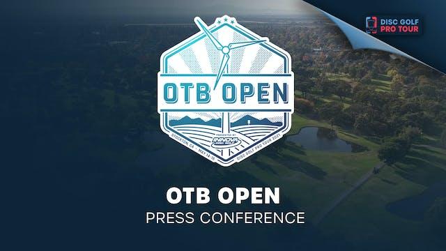 OTB Open Presented by Innova | Press ...