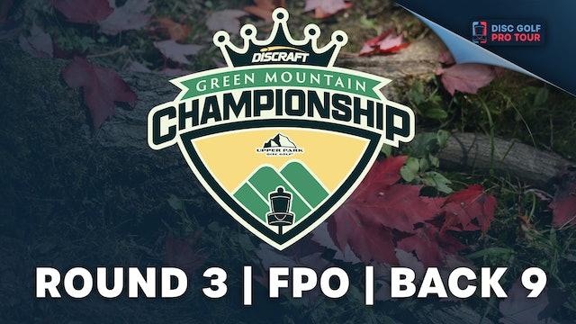 Round 3, Women's Back | Green Mountain Championship
