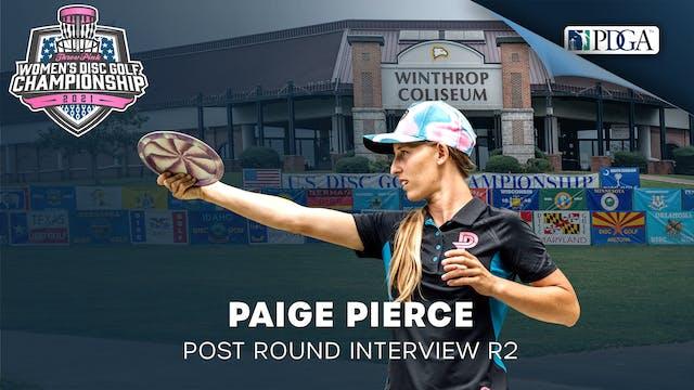 TPWDGC Round 2 - Post Round Interview - Paige Pierce
