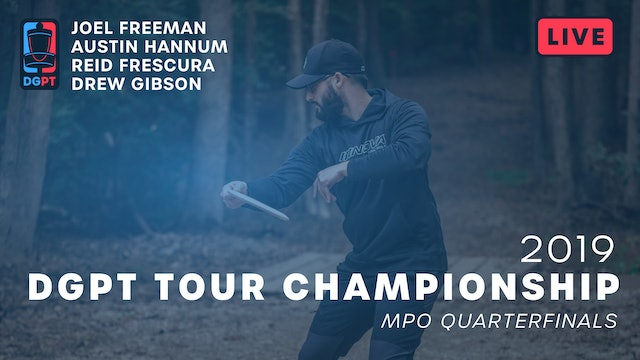 2019 DGPT Tour Championship Live Replay - MPO Quarterfinals