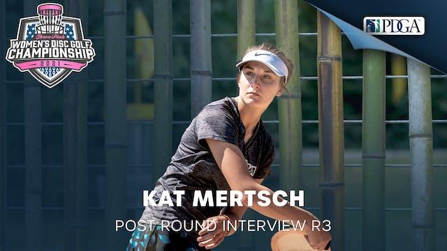 TPWDGC Round 3 - Post Round Interview - Kat Mertsch