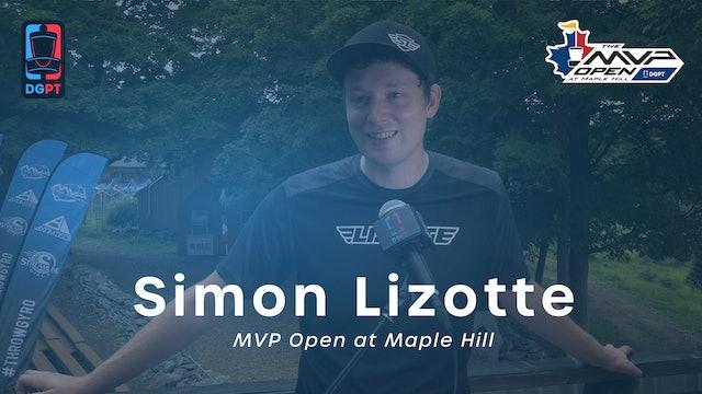 Simon Lizotte Press Conference Interview