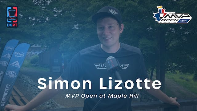 Simon Lizotte Press Conference Interv...