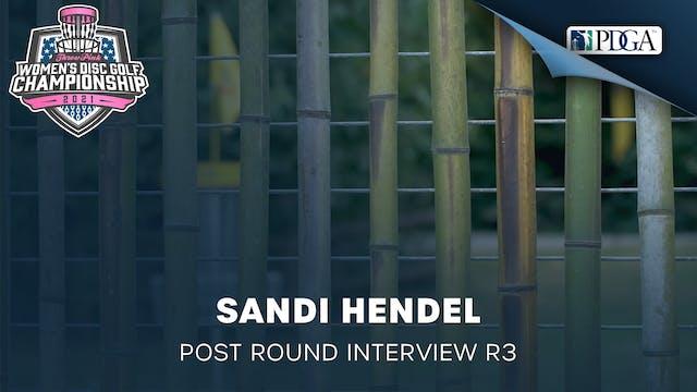 TPWDGC Round 3 - Post Round Interview - Sandi Hendel