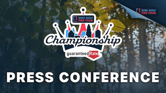 Press Conference   Tour Championship Presented by Guaranteed Rate
