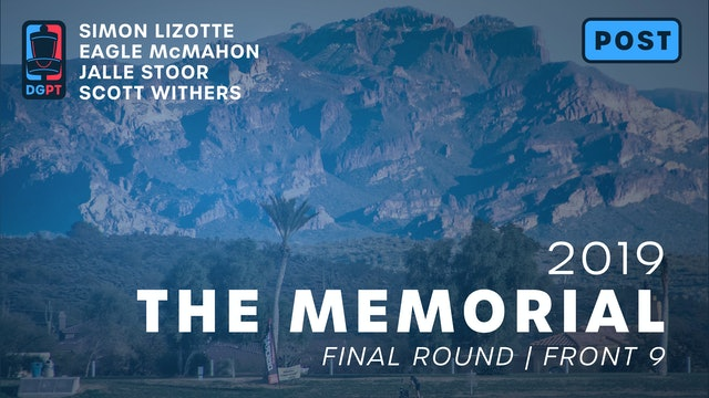 2019 Memorial Post Produced - MPO Final Round | Front 9