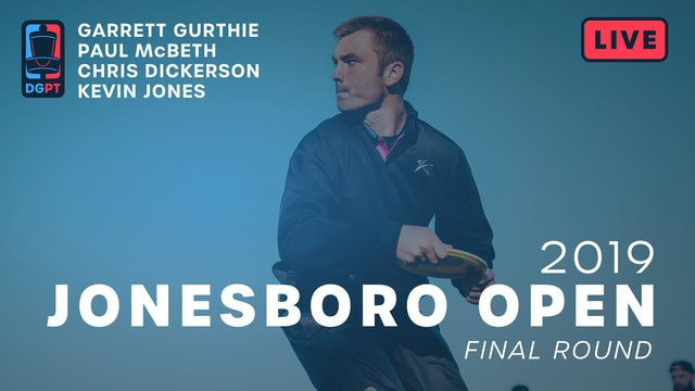 2019 Jonesboro Open Live Replay - MPO Final Round